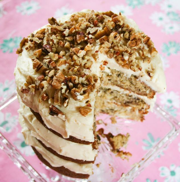 ... on Bainbridge: Banana Nut Coconut Cake with Cream Cheese Frosting