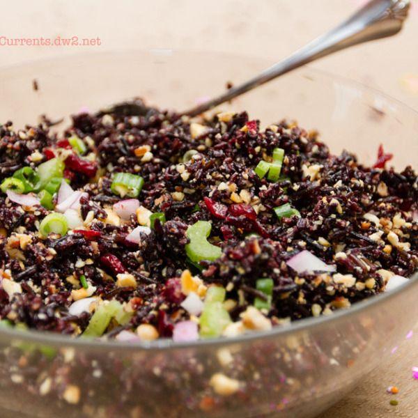 Wild Rice Salad   Life Currents