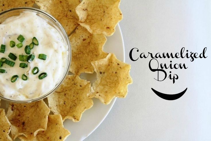 Super Bowl Sunday Ready Caramelized Onion Dip | Recipe