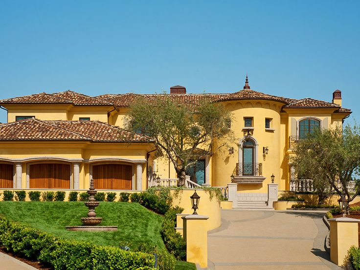 Pin by barbara davis on tuscan old world french for French mediterranean homes