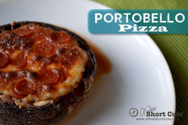Portobello Pizza | Recipe