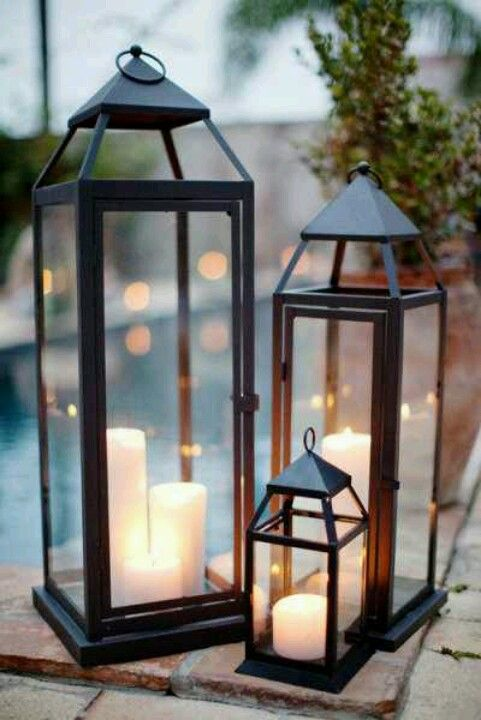 Outdoor Lanterns For The Home Pinterest