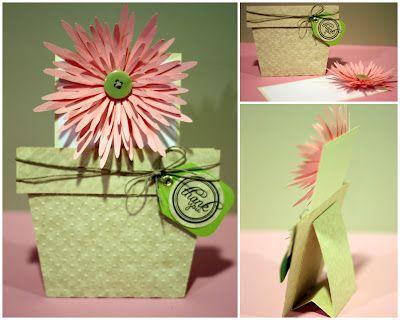 Flower Pot Card Freebie