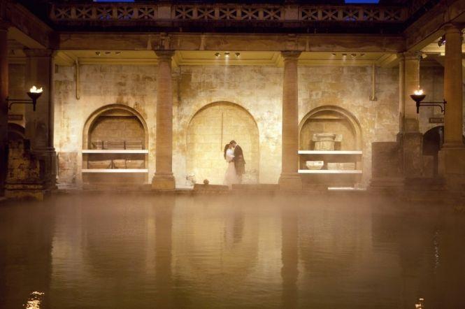 weddings roman baths pump room