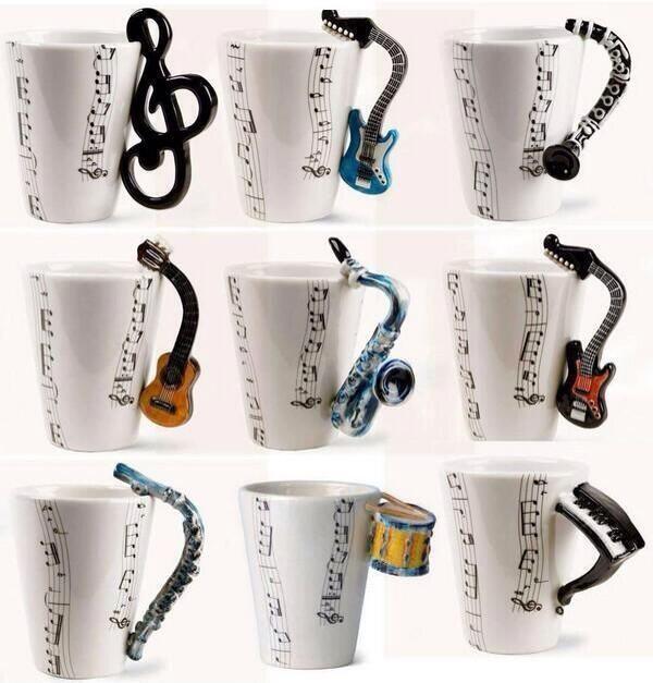 ミュージックマグカップ