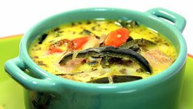 Inspired By eRecipeCards: Poblano Rotisserie Chicken Soup