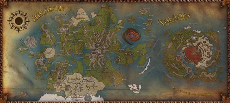 23 Best Images About Krynn World Maps On Pinterest Islands