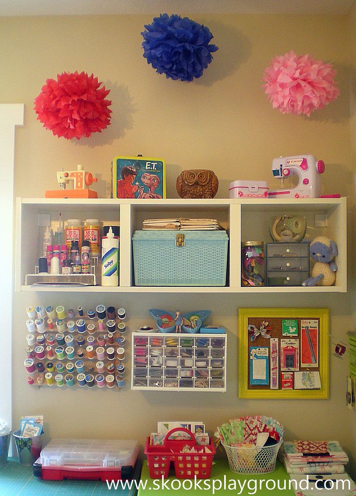 Sewing Room Sewing Craft Room Organization Pinterest