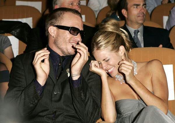 Heath Ledger and Sienna Miller | Heath Ledger | Pinterest
