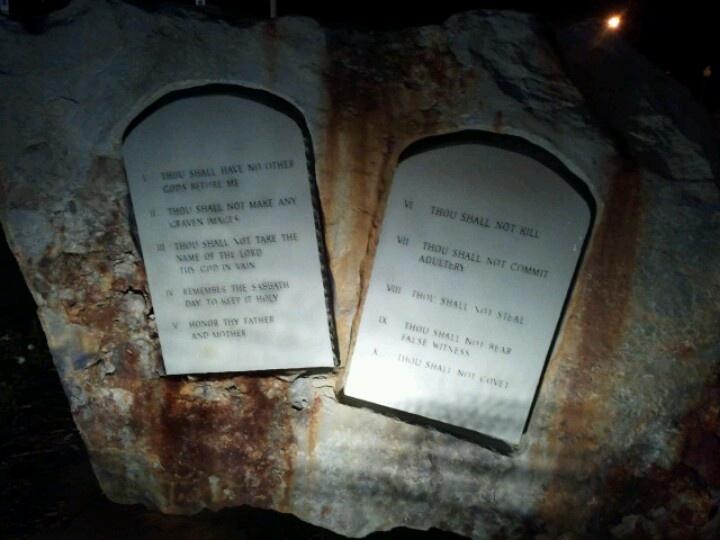 The Ten Commandments @ Shrine of the Holy Spirit in Branson, MO.