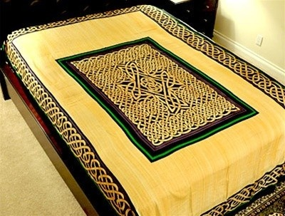 Celtic bed sheet or wall hanging bazinga pinterest