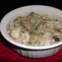 Mushroom Casserole ... 8oz. of pcs.Mushrooms, 1/2 diced onion, 1/2 c ...