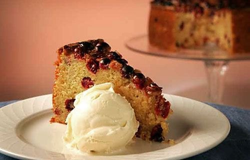 LA Times cranberry orange cornmeal cake - with some seriously rave ...