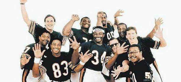 1985 Chicago Bears The good ol days fo them and me     Walter Payton Super Bowl Shuffle