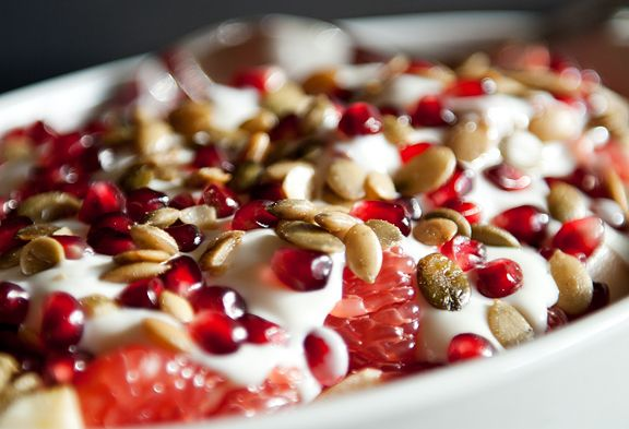 fall fruit and yogurt salad recipe *alternative: you can make this ...
