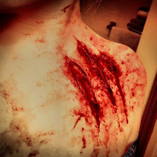 Werewolf claw marks - photo#3