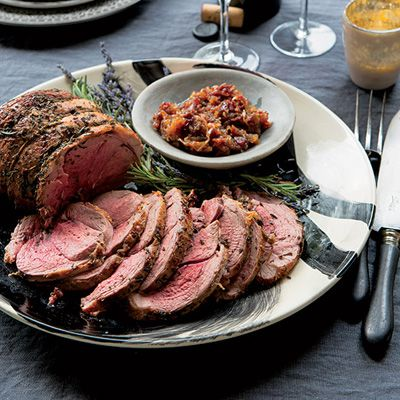 Roast Leg of Lamb with Rosemary and Lavender Recipe - Delish.com