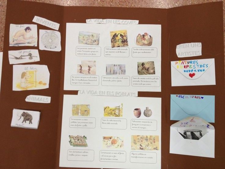 lapbook de la prehistoria