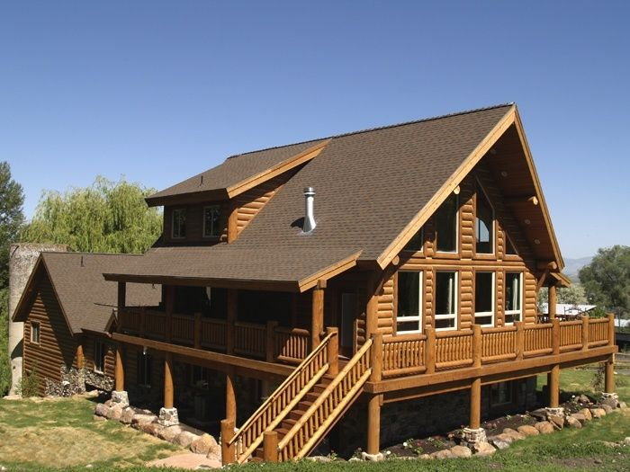 Pin by royal randy on log homes canada pinterest Pre cut homes