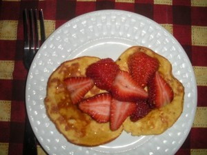 cream cheese pancakes | Breakfast | Pinterest