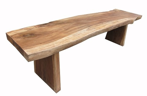 Dining Table: Wood Slab Dining Table