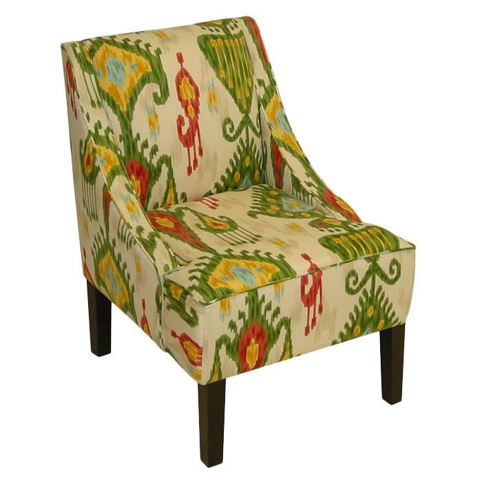 Ikat arm chair color inspiration pinterest