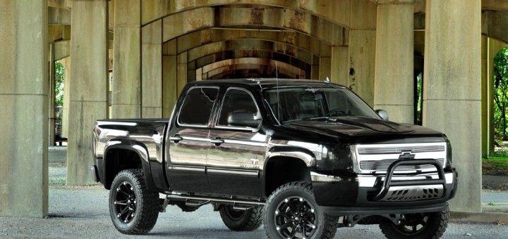 lifted full size chevy trucks gm trucks pinterest. Black Bedroom Furniture Sets. Home Design Ideas