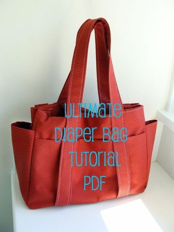 Ultimate diaper bag. PDF tutorial