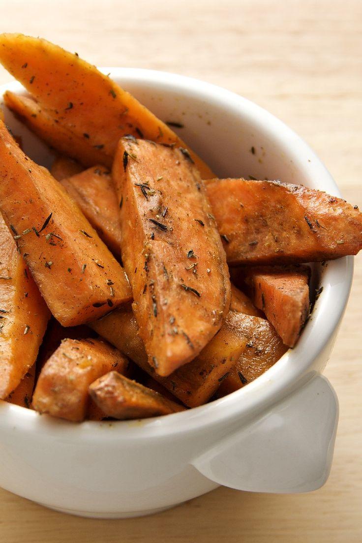 Baked Sweet Potato Sticks Recipe | Deliciousness. | Pinterest