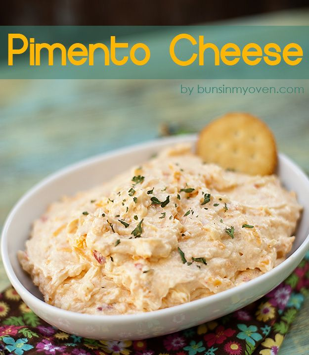Pimento Cheese #recipe by bunsinmyoven.com--mmmm pimento cheese is ...