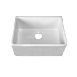 24 Inch Kitchen Sink : Highpoint Collection Fireclay 24-inch Kitchen Sink
