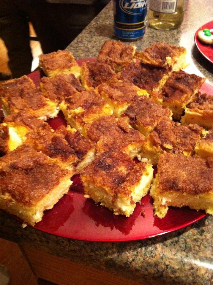 Cheesecake bars...yum yum | Cookies and squares | Pinterest