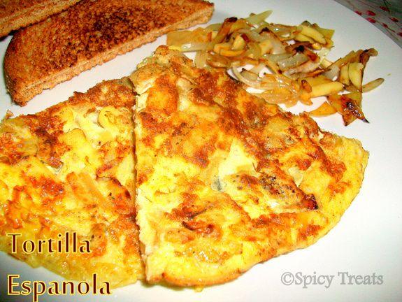 Potato Spanish Omelet | i