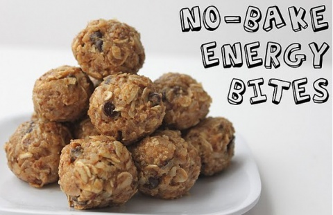 No-Bake Energy Bites-Raw Cookies | Nom nom nom | Pinterest