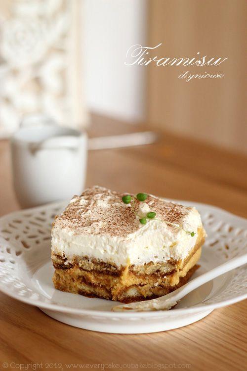Pumpkin Tiramisu | Desserts! | Pinterest