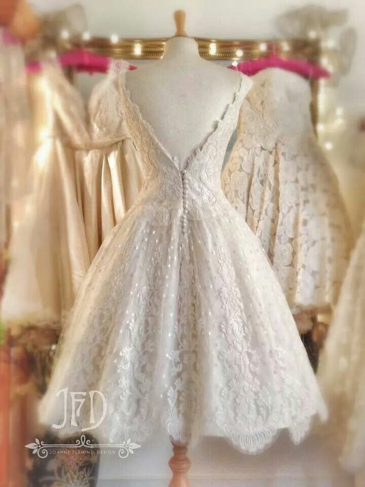 Beautiful short 50s style wedding dress for 50 s style short wedding dresses