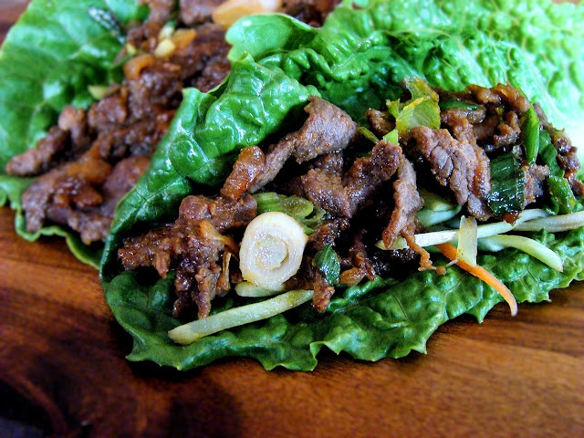More like this: beef lettuce wraps , beef and lettuce .