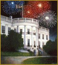 white house fourth of july decorations