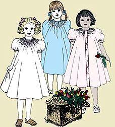 Amberlane :: Smocking & Heirloom Sewing :: Children's Patterns