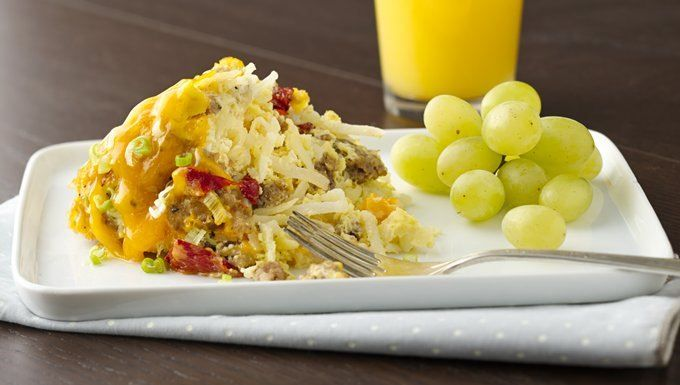 ... breakfast casserole is the perfect way to feed a big brunch crowd