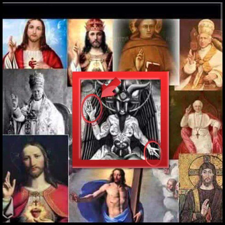 Satanic Hand Signs Crazywidowfo