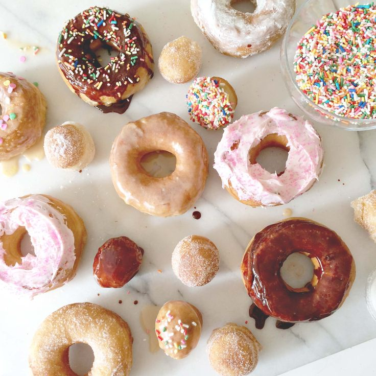 "Super Easy ""Homemade"" Doughnuts 