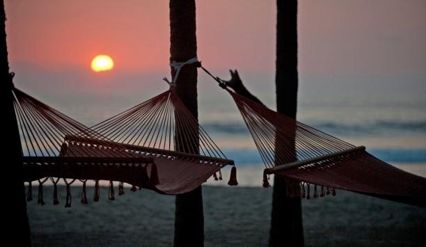 Mexico Bucket List: Watch sunset in a Hammock