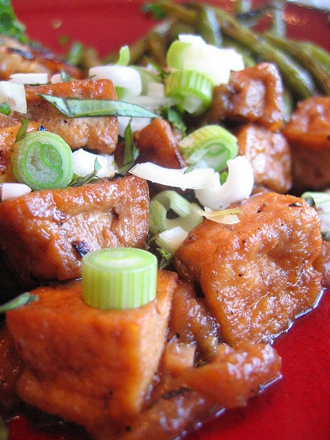 caramelized_eggplant_and_tofu | In Food Heaven | Pinterest