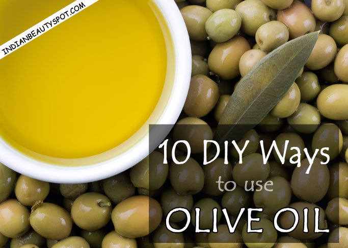 10 DIY Ways to use oli...