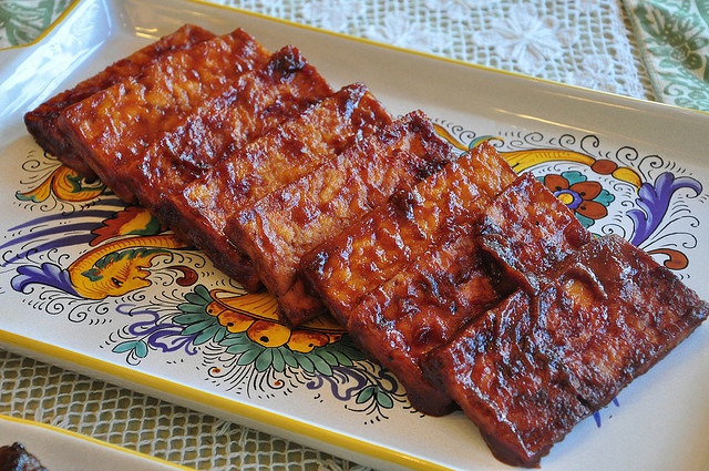 miso and cola bbq tofu by tofu666, via Flickr