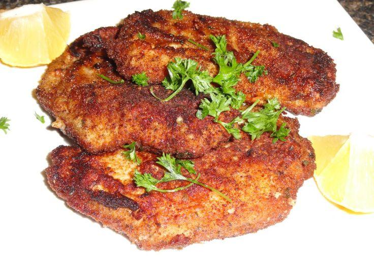 paneed pork chops