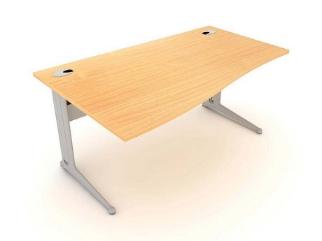 Kassini Left Hand Wave Desk £367 http://www.homeinteriorsbyhunters.co