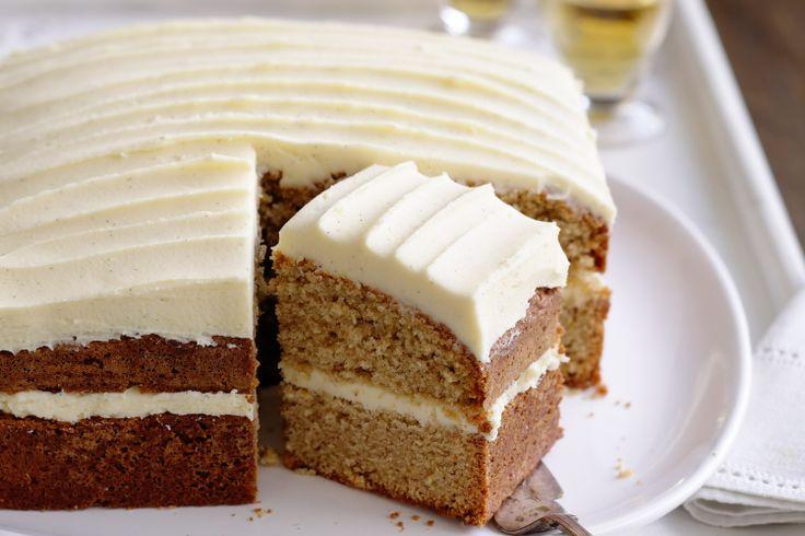 Cream Cheese Frosting Cinnamon Cake