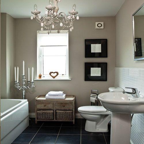 Shabby Chic Bathroom Storage Bethany Pinterest